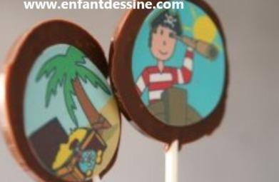 Sucettes chocolat | Bricolage enfants 2 à 10 ans | Scoop.it