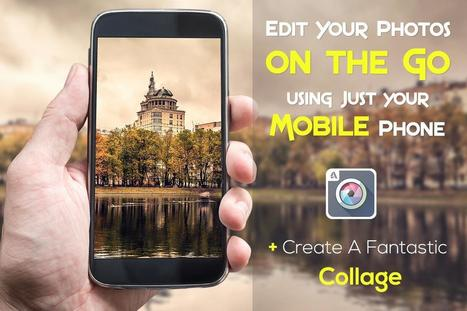 Edit Your Photos on the Go using Just your Mobile Phone - Skillshare | iPhoneography-Today | Scoop.it
