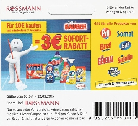 rossmann regal coupon mindestens 3 produkte. Black Bedroom Furniture Sets. Home Design Ideas