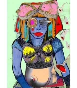 Soutif - Carine prévot - Galerie d'art contemporain le hangART | Tableaux des artistes du hangART | Scoop.it