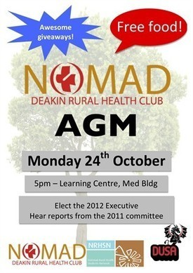 Welcome to NOMAD! - nomad.nrhsn.org.au | Deakin University Medical Students | Scoop.it