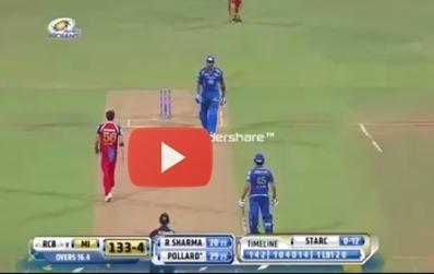 Fight Between Kieron Pollard and Mitchell Starc in IPL 2014   technology   Scoop.it