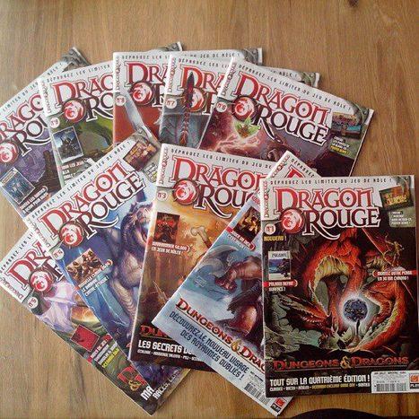 Dragon Rouge, magazine de jeu de rôle disparu... | Jeux de Rôle | Scoop.it