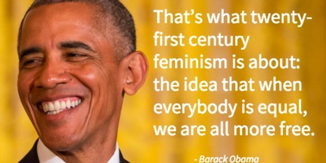 Barack Obama Wrote An Essay About Feminism Every Man Needs To Read | Current Events, Political & This & That | Scoop.it
