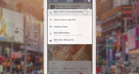 Facebook presenta herramienta para guardar cont...   Economía&ADE   Scoop.it