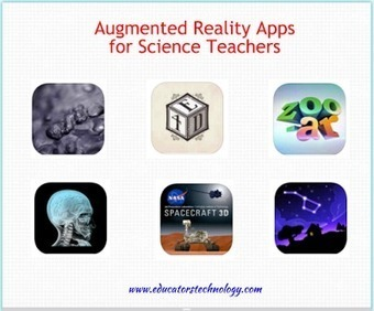 6 Outstanding Augmented Reality Apps for Science Teachers ~ Educational Technology and Mobile Learning | Informatics Technology in Education | Scoop.it