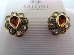 Ruby Red Diamanté Earring & Butterfly Earring for the price of one | Interesting box | Scoop.it