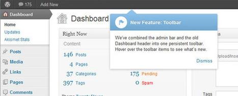 Belangrijkste features van WordPress 3.3 | WordPress nieuws | Scoop.it