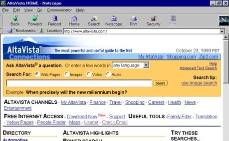 7 search engines lost to history: Where are they now?   Internet and websites   Scoop.it