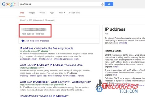 How to Find Your IP Address the Easiest Way? | Bloggers Tech | Scoop.it