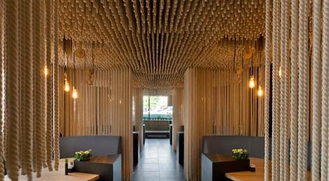 Behold The Unique Restaurant Decorated With Ropes   Food & chefs   Scoop.it
