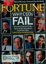 The Reason CEOs Fail: An Update - Forbes | #BetterLeadership | Scoop.it