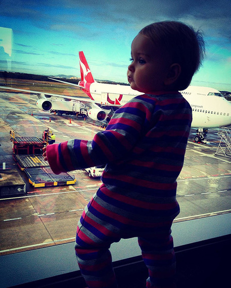 1-Year-Old Has Been Travelling Around The World Since She Was Born | CLOVER ENTERPRISES ''THE ENTERTAINMENT OF CHOICE'' | Scoop.it