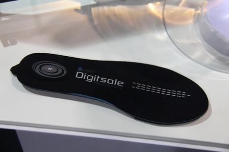CES 2015 : Digitsol, une semelle connectée qui nous vient de Nancy | Semelles | Scoop.it