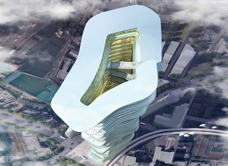 A Concept 'Vertical City' Skyscraper That Supports An Ecosystem | Sustainable Futures | Scoop.it