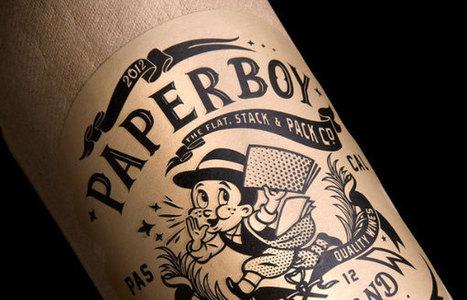Une bouteille de vin en papier nommée Paperboy | obésité | Scoop.it