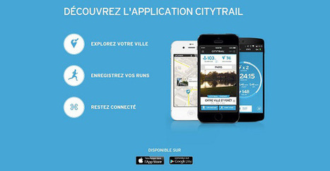L'application Citytrail de Salomon est disponible sur smartphone | LerunnerGeek.fr | Scoop.it