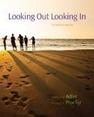 Looking Out, Looking In, 14th Edition - Free eBook Share | University Reading | Scoop.it