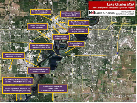 NAI Lake Charles: SWLA Industrial Boom & NAI Lake Charles | Lake Charles, Louisiana | Scoop.it