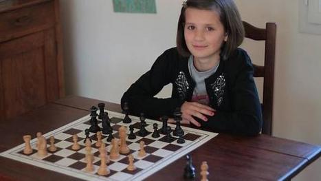 Raphaëlle, la petite reine des échecs - Ouest-France | Les News des échecs | Scoop.it