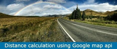 Distance calculation using Google map api - Programming Blog | Web tutorials | Scoop.it