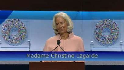 IMF Videos - Address by IMF Managing Director Christine Lagarde at the Annual Meetings Plenary | SemillasDelFuturo | Scoop.it