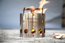 Collapsible Stainless Steel Camp Stove By Kent Hering - Design Milk | Diseño Industrial, Portafolio y Diseños Impactantes | Scoop.it