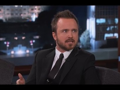 Aaron Paul on Jimmy Kimmel Live PART 2 | Money | Scoop.it