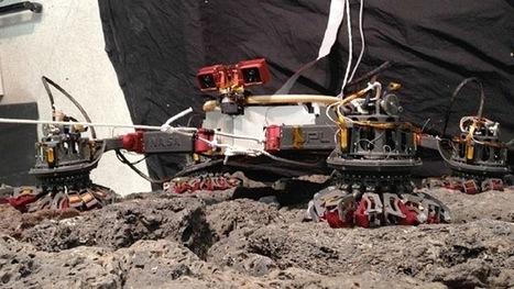 Video: El primer robot escalador de la NASA, diseñado para ... - RT en Español - Noticias internacionales | mecatronica | Scoop.it