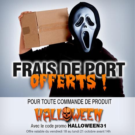 Frais de port gratuits ce week-end sur toute la gamme Halloween! Foncez chez Ruedelafete.com!   Blog RueDeLaFete   deguisement et costume   Scoop.it