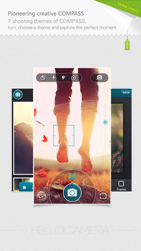 Camera360 Concept - HelloCamera (Photography) | Instagram Tips and Tricks | Scoop.it