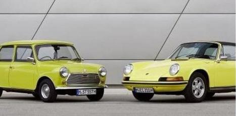 BMW félicite...  Porsche pour les 50 ans de la 911. Et vante sa Mini! | Immobilier | Scoop.it