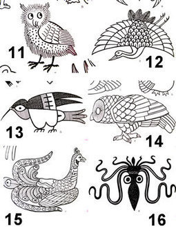 Japanese animal motifs | Year 4 Maths: Japanese Motifs | Scoop.it