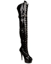 Lace Up Thigh High Boots | Fashion | Scoop.it