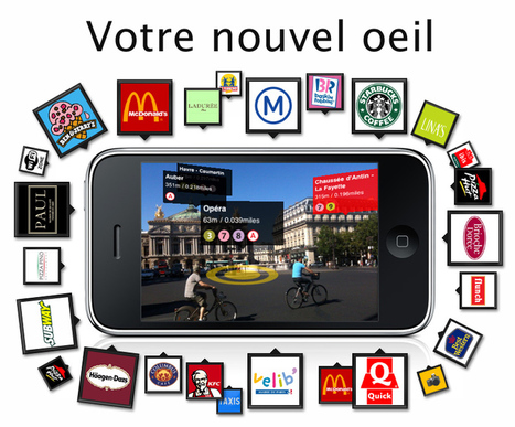 L'application Métro Paris sur iPhone et iPod Touch | Augmented & Reality Reality - 3Dprinting - Wearable Technologies - Code QR - ..... | Scoop.it