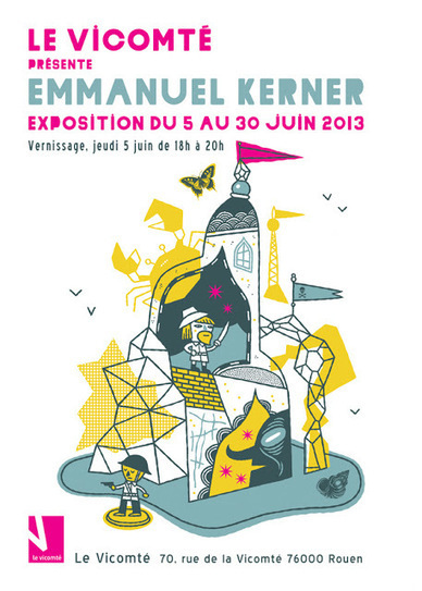 Emmanuel Kernel - expo 5-30 juin - Vicomté | Rouen | Scoop.it