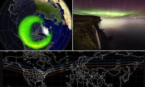 See the Northern Lights as the sun flings debris out of coronal hole   NERC media coverage   Scoop.it