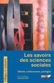 Les savoirs des sciences sociales - Laurent vidal (Ed.) - IRD éditions | Parution d'ouvrages | Scoop.it