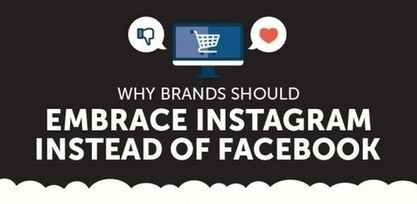 Infographie : Facebook VS Instagram | Marketing in a digital world and social media (French & English) | Scoop.it
