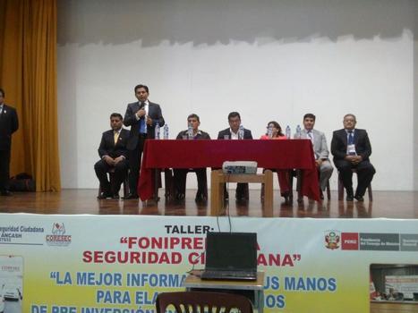 Áncash: municipalidades no presentan proyectos de seguridad ciudadana | Noticias más importantes de las regiones del Perú - RPP | Scoop.it