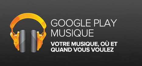 Google Play Music | Application pour Tablettes Android | Scoop.it