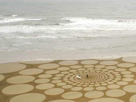 Beautiful Sand Drawings by Jim Denevan | Architecture and Architectural Jobs | Scoop.it