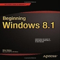 Beginning Windows 8.1 PDF Book | MYB Softwares | MYB Softwares, Games | Scoop.it
