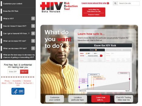 HIV Risk Reduction Tool Helps People Understand HIV Risk and Strategies for Reducing Their Risk | HelpHiv | Scoop.it