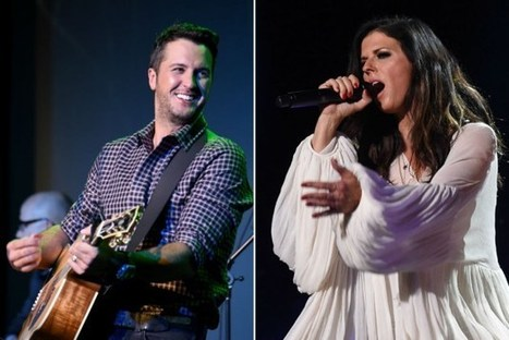 Luke Bryan and Karen Fairchild to Duet at 2015 American Music Awards | Country Music Today | Scoop.it