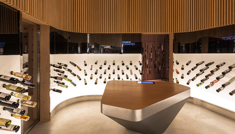 A São Paulo, une boutique de vins associe œnologie et high-tech | Nouveaux concepts magasins | Scoop.it