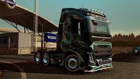 Volvo FH 2012 Dragon Skin for Euro Truck Simulator 2 | 9Mods | 9Mods | Scoop.it
