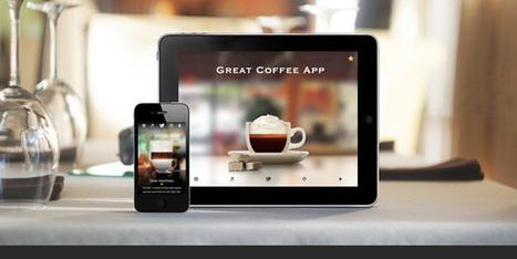 Application mobile : 15 webdesign de qualité pour présenter un service - mobile   oliviermarchand.es   Scoop.it