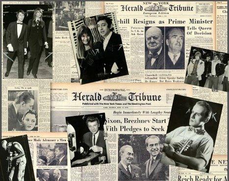 Les archives photographiques du «Herald Tribune», une manne documentaire   DocPresseESJ   Scoop.it