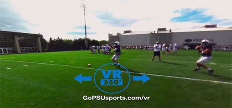 Penn State Athletics and EON Sports VR Launch Virtual Reality Channel -- Campus Technology | Augmented, Alternate and Virtual Realities in Higher Education | Scoop.it